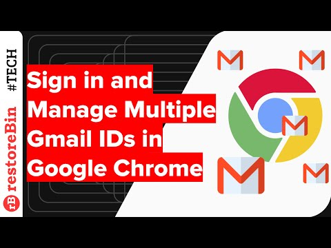 Multiple Google Login for Chrome to Become Productive Champ! 1