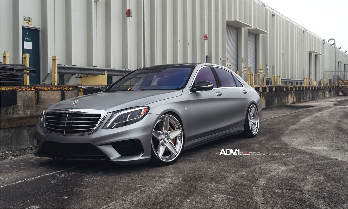 ADV.1 Renntech Tuned Mercedes S63 AMG Daily Driver - YouTube