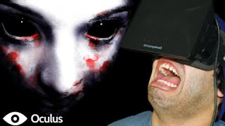 JUMP SCARE OF DEATH! - Oculus Rift Horror Game