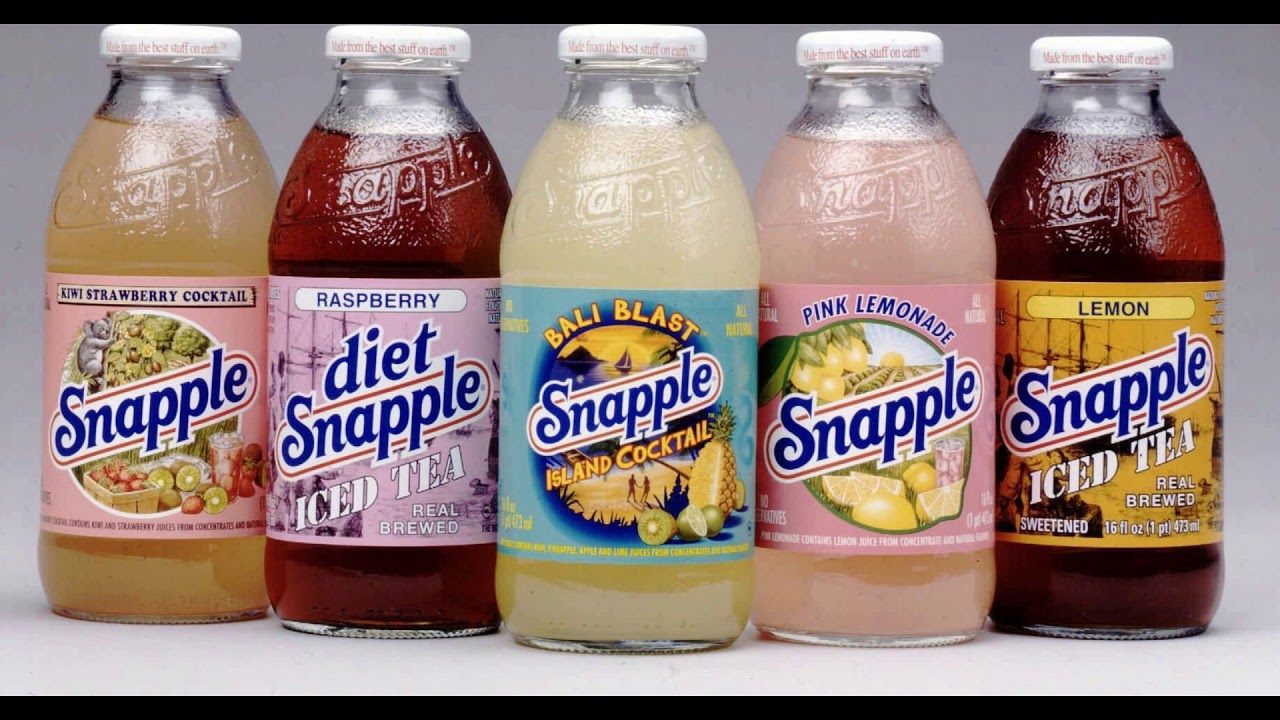 Why Snapple went to plastic bottles, and why is it good for the environment