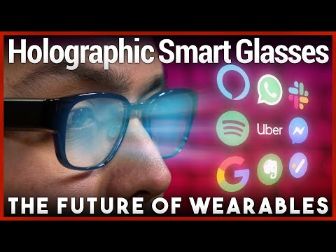 Order an Uber & Slack From Smart Glasses - Focals by North Review