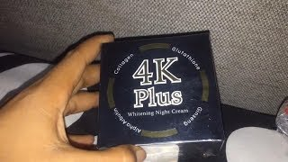 4K Plus Night Cream (product Bangkok, Thailand)