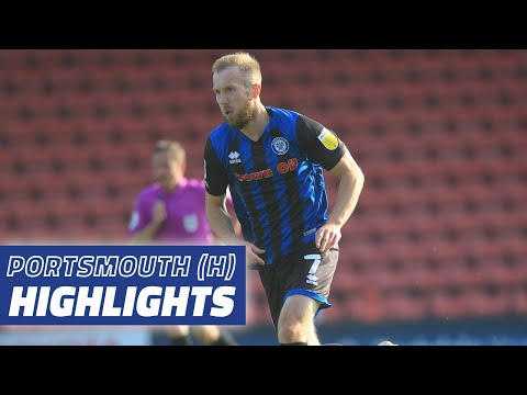 Rochdale Portsmouth Goals And Highlights