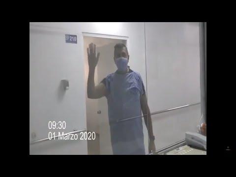 Video: Italiano que dió positivo a coronavirus en República Dominicana se encuentra estable.