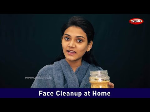 Face Cleanup At Home  Beauty Amp Makeup Video  Beauty Tips For Beginners In Hindi