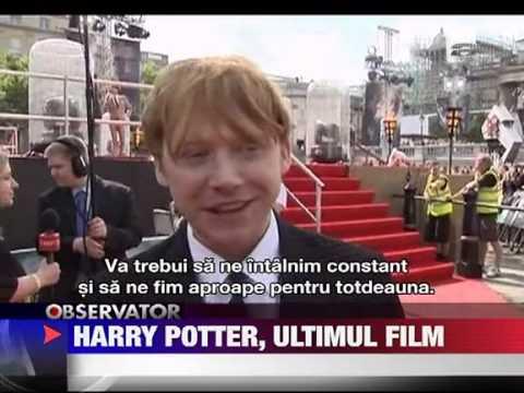 Harry Potter ultimul film 8 IULIE 2011