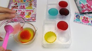 Precure Colorful Dress Jelly DIY Candy