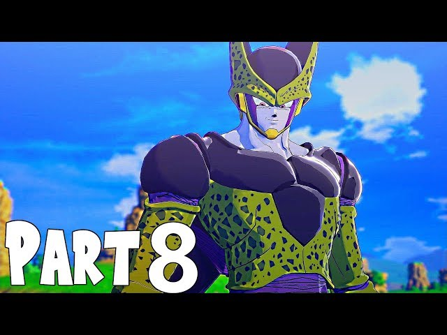 Dragon Ball Z Kakarot Gameplay Walkthrough Part 8- Perfect Cell (XBOX ONE Gameplay) [DBZ 2020 Game]