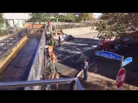 FACEBOOK LIVE: Driving Rose Parade Float