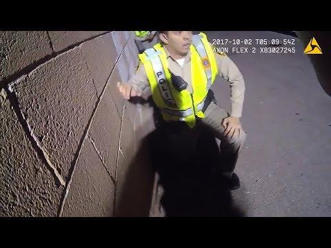 Las Vegas shooting: Police body camera raw footage