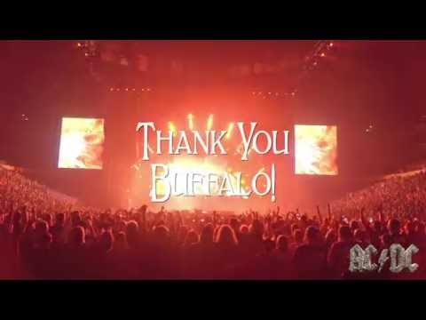 AC/DC - Rock Or Bust World Tour - Thank You Buffalo, NY!