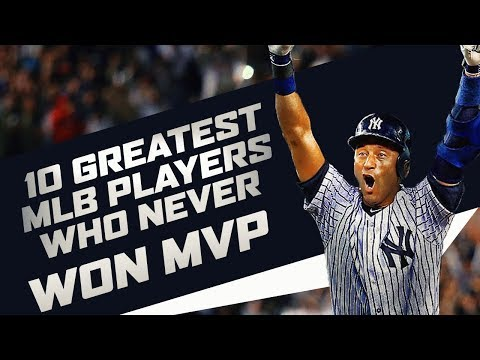 10 Greatest MLB Players Who Never Won MVP