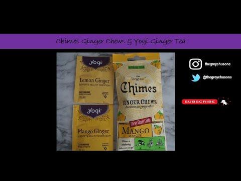 Chimes Ginger Chews & Yogi Ginger Tea Review