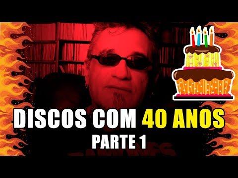 Discos com 40 anos -  1