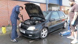SAXO PROBLEMS ALREADY!!! stripped it - What did we find inside?