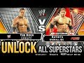 WWE Smackdown Vs Raw 2010 - How to Unlock all Characters/Superstars [PPSSPP]