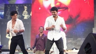 Shahrukh Khan and Vijay Dancing for Google Google - Thuppakki