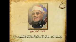 ما تيسر من سورة القصص - الشيخ أبو العينين شعيشع