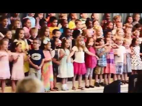 Wilderness Elementary School - Kindergarten graduation song