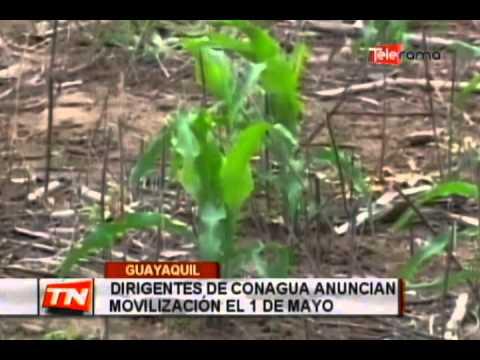 Dirigentes de Conagua anuncian movilización el 1 de mayo