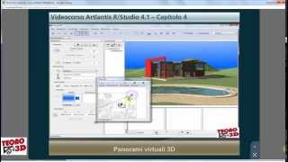 artlantis tutorial panorami 3d