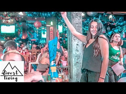 BANGKOK NIGHTLIFE 2018 | BACKPACKER STREET PARTY | KHAO SAN ROAD, THA WANG LANG