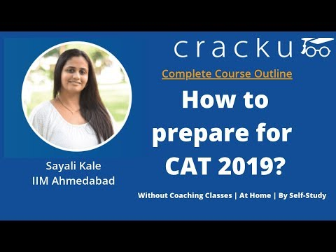 How to prepare for CAT exam - At home - Without coaching classes- By Self Study