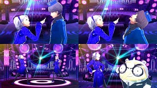 Persona 4: Dancing All Night - Electronica In Velvet Room (Video w/ All Partners)