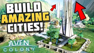 Aven Colony - SKYSCRAPERS ON ALIEN PLANET! Space Colony Survival! - Let's Play Aven Colony Gameplay