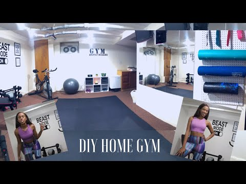 How to build a home gym on a budget – DIY Home Gym under $350 | Kelsley Nicole