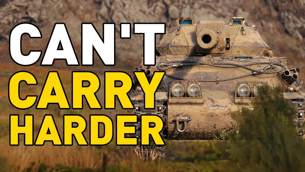 Can't Carry Harder in World of Tanks    - YouTube