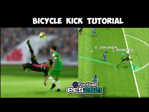 2 TRICKS to Perform Bicycle Shot | Pes 19 Mobile