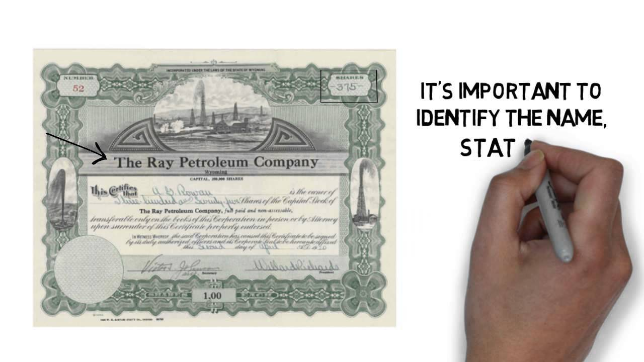 Found old stock certificates stock cert expert youtube found old stock certificates stock cert expert 1betcityfo Images