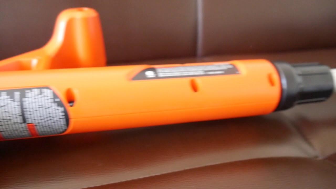 Black Decker Lst201 20v Max Lithium Ion String Trimmer Edger 10 59 Youtube