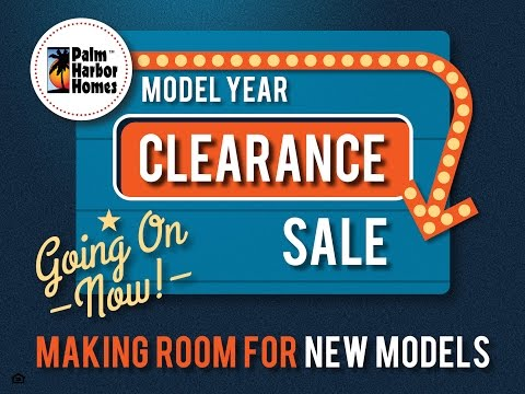Palm Harbor Homes Clearance Sale