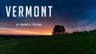 Vermont by Edward M. Fielding