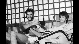 Bruce Lee Game of Death rare footage (photo shoot for the movie)