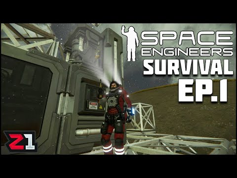 Dropping On A Planet With Nothing But Tools To Survive ! Space Engineers Survival Ep.1 | Z1 Gaming