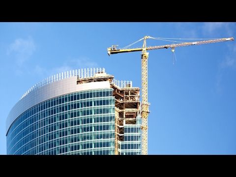 Construction of Skycrapers With The Most Advanced Tools Documentary
