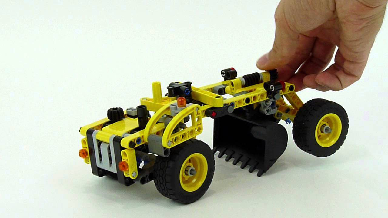 lego technic scraper 42023 b model youtube. Black Bedroom Furniture Sets. Home Design Ideas
