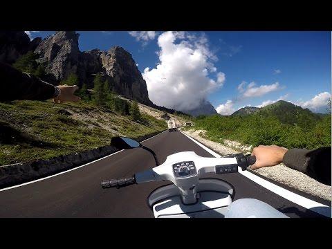 Dolomiti in Vespa - Sellaronda - GoPro Hero4 - Niculin93