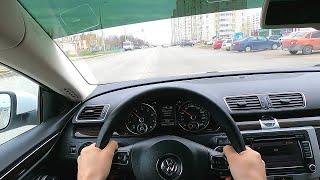Volkswagen Passat CC POV TEST Drive