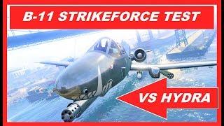 GTA 5 Online NEW  B11 STRIKEFORCE VS HYDRA  , TEST , After Hours DLC , best jets