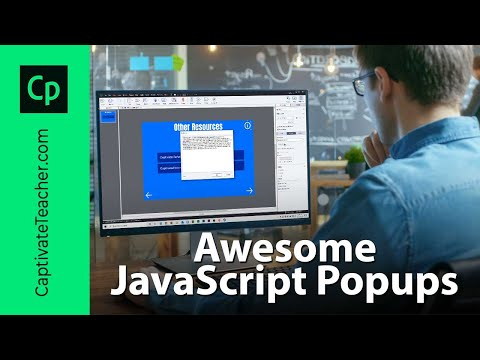 Awesome JavaScript Popups in Your Adobe Captivate Project