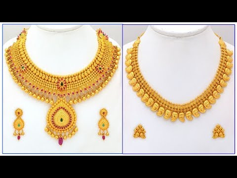 Gold Earring Designs With Weight Youtube