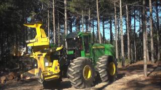 John Deere Forestry Demo Part