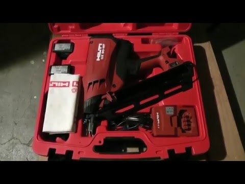 HILTI GX 90 WF Framing Nail Gun Review   YouTube