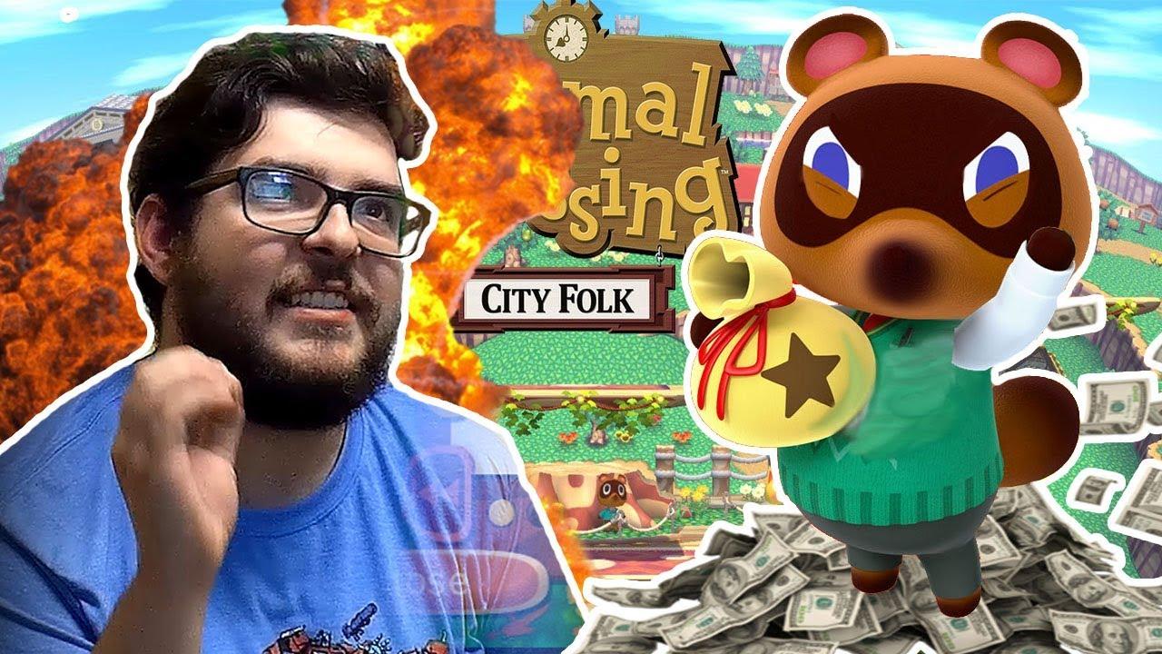 RISE UP! - Episode 2 - Animal Crossing: City Folk
