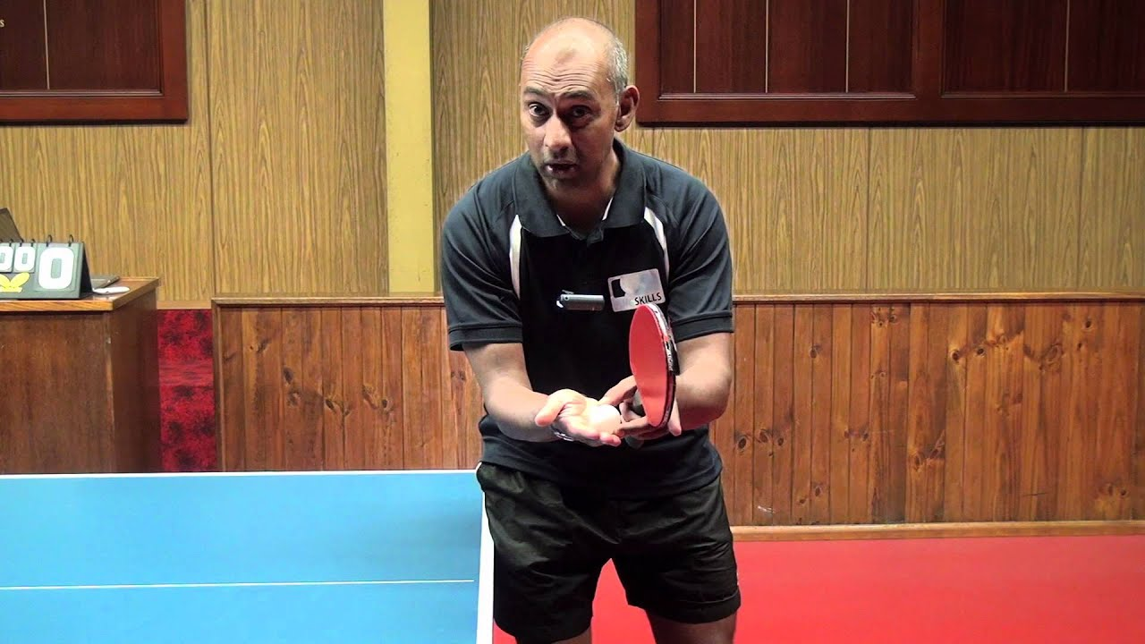 Basic serve in table tennis pingskills youtube for Table tennis serving rules