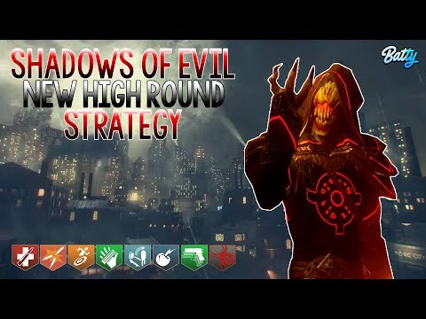 SHADOWS OF EVIL NEW HIGH ROUND STRATEGY ROUND 1-92 FULL GAMEPLAY